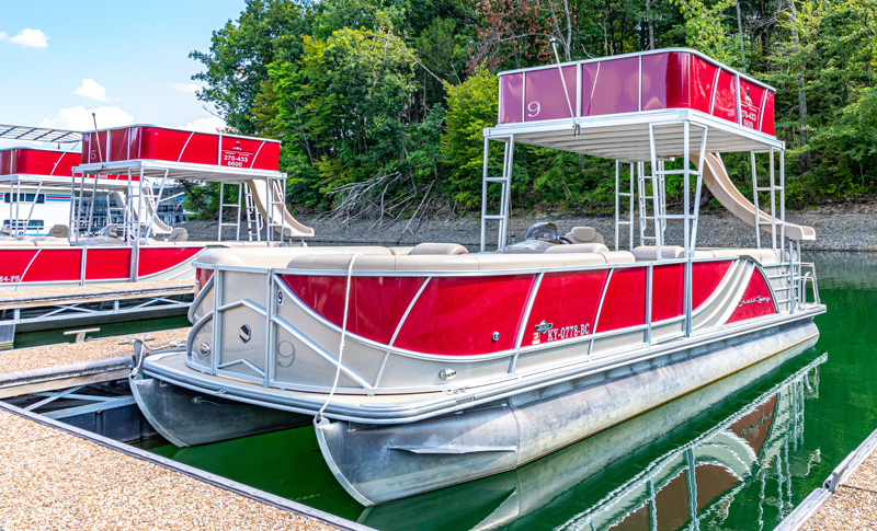 Double Decker Pontoon